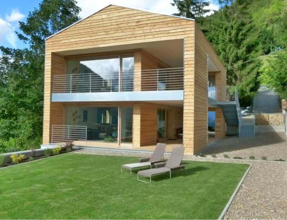 Demolizione del esistente e costruzione di una casa in legno renovo - Costruzione di una casa ...